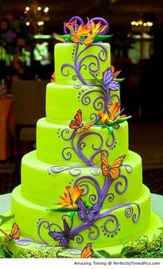 A work of art –  This is a cake you would keep on display or would you eat it right away?