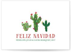 White Snow Feliz Navidad Cactus Holiday Cards from Minted designed by Erika Firm. Classic in white. Send out this year's holiday greetings with style. Your seasonal message will look great with these unique and modern holiday non photo cards created for y Cactus, Christmas Blessings, Holiday Photo Cards, Xmas Cards, Holiday Postcards, Free Food, Happy Holidays, Christmas Crafts, Christmas Ideas