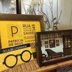Marcador de livro e miniatura do consultório de Freud!