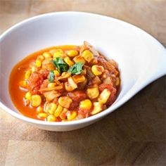 Easy Sweetcorn Curry