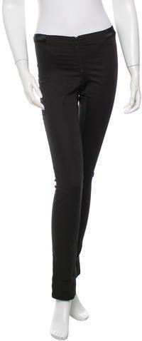 Alice + Olivia Low-Rise Skinny Pants Skinny Legs, Skinny Pants, Women Pants, Alice Olivia, Black Pants, Stylish, Tops, Fashion, Thin Legs