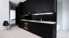 Designline Küche - Projekte: Schwarz auf Weiß   designlines.de