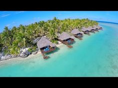 Aitutaki Cook Island - Travel with Drone - Airpano.com - Global Aerial Perspective