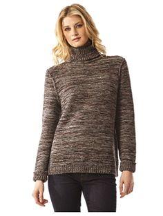 525 America Cotton Tweed Turtleneck  | 525america.com