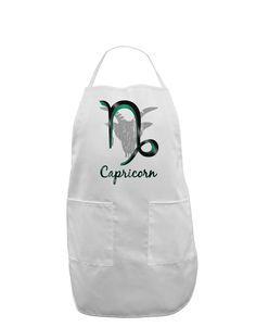 Capricorn Symbol Adult Apron