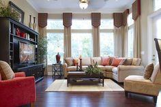 pictures of model homes interior | Sisler Johnston Interior Design Completes New Model by Mattamy Homes