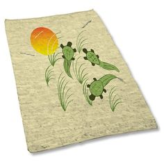 Uneekee Turtles Area Rug Small ** For more information, visit image link.-It is an affiliate link to Amazon. #LivingRoomRemodeling
