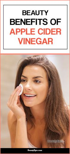 Apple cider vinegar is useful for people suffering from acne. In addition, apple cider vinegar helps to soothe sunburn as well as relieves pigment spots and other skin problems. Apple Cider Benefits, Apple Cider Vinegar For Skin, Oily Hair, Puffy Eyes, Ingrown Hair, Dandruff, How To Apply Makeup, Beauty Hacks, Beauty Tips