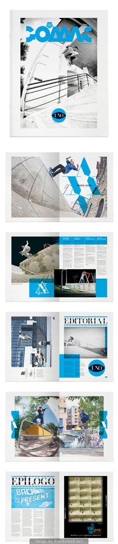 Go Skateboarding Magazine by Luis Vicente