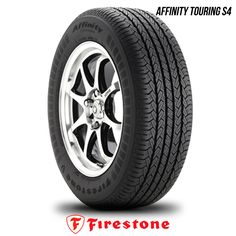 Firestone Affinity Touring S4 195/65R15 89S BW 195 65 15 1956515 50K Warranty