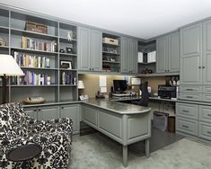 Traditional Home Office Design, Pictures, Remodel, Decor and Ideas - page 12
