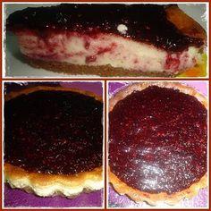 Cheesecake de mascarpone e frutos vermelhos