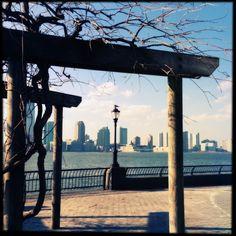 Battery Park City Esplanade in New York, NY