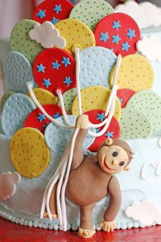 Curious George Birthday Party - this is an adorable party, full of inspiration! #kidsparty