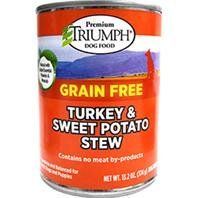 Triumph Grain Free Turkey and Sweet Pot Can Dog Food *** See this great product. (This is an affiliate link and I receive a commission for the sales)