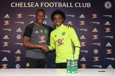 Blog Esportivo do Suíço:  Chelsea anuncia renovação com Willian por quatro anos