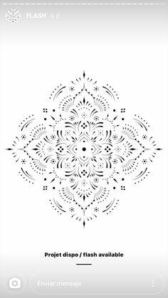 Bohemian Tattoo, Boho Tattoos, Mini Tattoos, Trendy Tattoos, Body Art Tattoos, Mandala Tattoo Design, Henna Tattoo Designs, Mandala Dots, Mandala Pattern