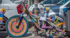 #yarn bomb! Foresters Camera Club Photo of the Week   The Tinley Junction