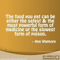 Eat Organic Foods!