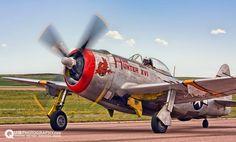 """P-47D Thunderbolt """"Hun Hunter XVI"""""""