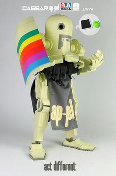 Act Different Ashley Wood Designer Toys Robots Action Figures Urban Sample