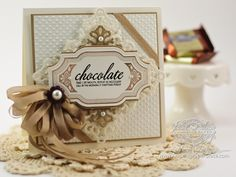 Card Making Ideas by Becca Feeken using JustRite Home Bakery Labels and Vintage Tags