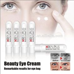 Best selling private label natural 0.1OZ 5 sachet 2 months supply Real Plus Beauty eye cream