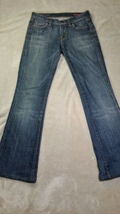 WOMENS CITIZENS OF HUMANITY Kelly #001 Stretch low waist bootcut Med wash 25  #CitizensofHumanity #BootCut