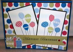 Balloon Celebrations by akbride - Cards and Paper Crafts at Splitcoaststampers
