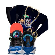 Space Jam, created by nenedopesauce on Polyvore