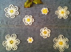 Crochet is the Way: Free pattern: Lacy Daisy Applique