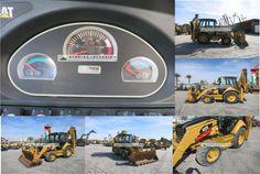 Backhoe Loader, Caterpillar, Monster Trucks, Running, Detail, Vehicles, Model, Keep Running
