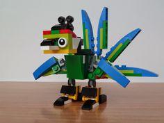Totobricks: LEGO 31031 LEGO CREATOR 3 IN 1 2015 Bird of Paradise Model from Lego Club http://www.totobricks.com/2015/03/lego-31031-lego-creator-3-in-1-2015_26.html