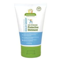 Hypoallergenic and free of fragrances, parabens, sulfates, phthalates, toxins and petroleum, Babyganics' Healin Groovy protective ointment #baby #bath $skincare #soap #shampoo