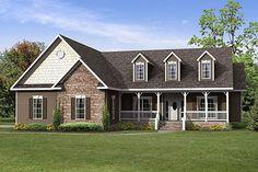 North Carolina Modular Home Floor Plans - Hampton Cape Cod