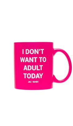 893e07e3516 Shop for JAC VANEK Adult Mug in Fluorescent Pink at REVOLVE. Free 2-3