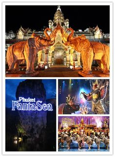 Fantasea Phuket - con Incoming Asia prezzi speciali per assistere a uno degli spettacoli più famosi della Thailandia