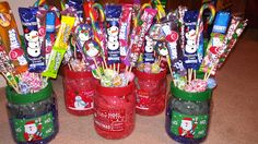 Xmas candy bouquets