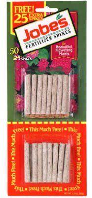 Easy Gardener Inc 50Pk 10-10-4 Flwr Spike 05201T Flower & Vegetable Fertilizer by Easy Gardener. $2.19. jobe's, 50 pack, 10-10-4, flowering plant spike, bonus pack.