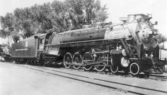Not sure there ever was a singularly more gracious, lovely engine than Rio Grande Here she is at the Salt Lake City shops in the Baltimore And Ohio Railroad, Pennsylvania Railroad, Old Wagons, Railroad Photography, Old Trains, Train Pictures, Train Engines, Sight & Sound, Steam Engine