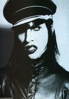 Marilyn Manson. Yes, I know. He's not goth. I still have love for him though.