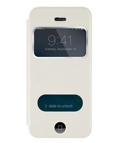 Love this White Window Leather Cell Phone Case on #zulily! #zulilyfinds