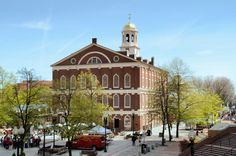Faneuil Hall Marketplace in Boston