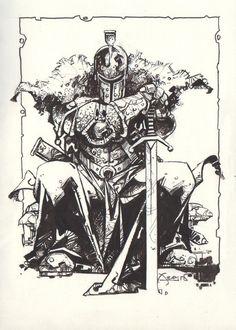 Dark Souls II (Alfonso Azpiri) Comic Art