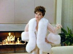 "Also, your lingerie should be covered in fur too... | 19 Impeccable Style Tips From ""Dynasty's"" Alexis Carrington"