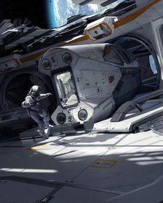 Space Pod, by .One Pixel Brush .More space ship here.