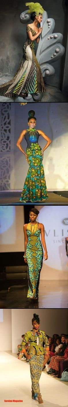 Woe take me back to my roots -- African fashions African Inspired Fashion, African Print Fashion, Africa Fashion, Ethnic Fashion, Fashion Prints, Fashion Design, African Prints, Fashion Styles, Fashion Dresses