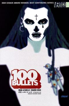 100 Bullets #55, January 2005, cover by Dave Johnson