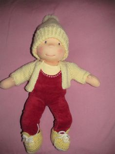 Custom bemka Waldorf Doll DEPOSIT 14 inch doll made to by bemka