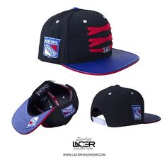 NEW RELEASE // New York Rangers 'Player' Snapback // Now Available Online // Tag a Rangers Fan